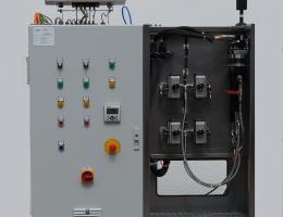 2 K Automatik Kleber Misch - und Dosierstation für Roboter Einsatz
