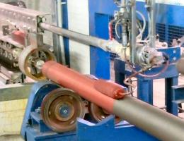 2 K Epoxid Rohr-Innenbeschichtung, Außenbeschichtung Rollenanwendung